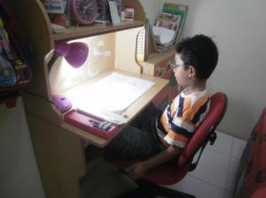 Samuel Gultom - Studying